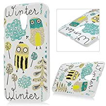 Moto G2 Case,Motorola Moto G 2nd Gen Case - Mavis's Diary® 3D Handmade Bling Crystal Cute Funny Owl Birds Pattern with Shiny Sparkle Rhinestone Diamonds Clear Cover Hard PC Case for Motorola Moto G (2nd Generation 2014)