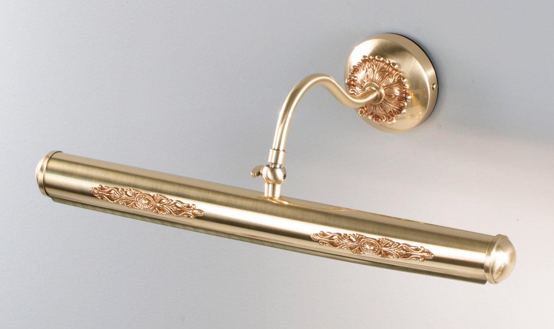 Nervilamp Bilderleuchte Vincent 4 French gold Handarbeit,Made in