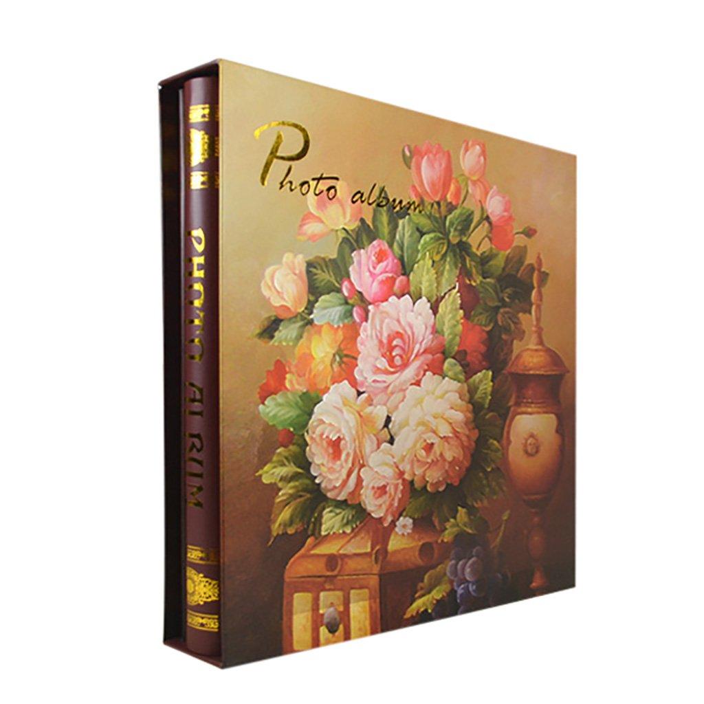 Photo Album SESO UK- Álbum de Fotos Creativas, de álbum de Creativas, Recuerdos de Aniversario de Boda, para 500 Fotos con un tamaño de 6x4 / 10.2x15.2cm (4R) (Color : A) 8a60cd