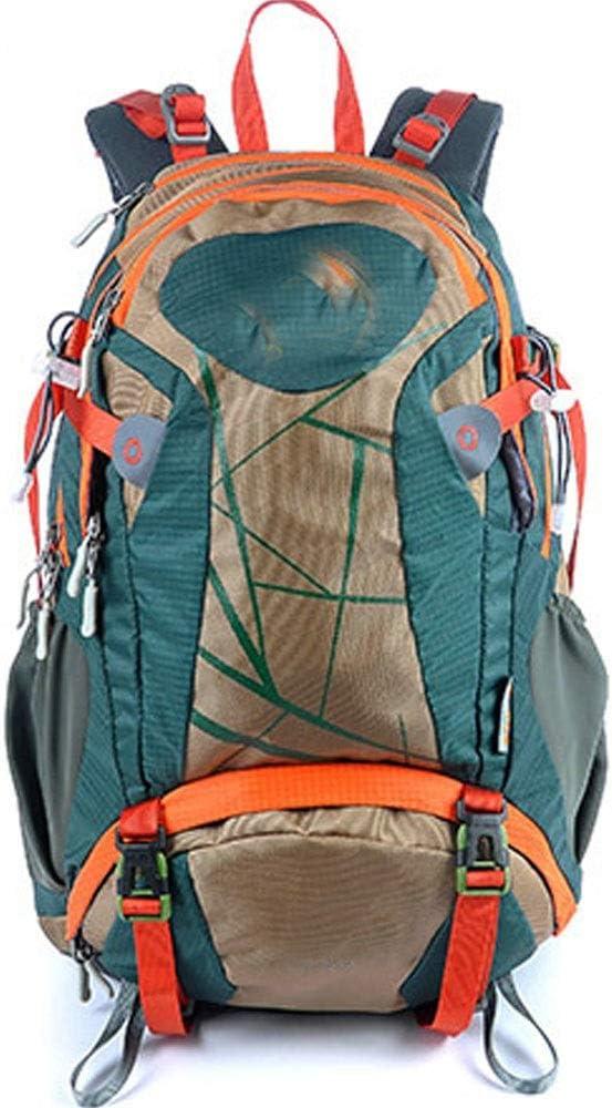 通気性 ファッション人格旅行バックパック登山バッグ/アウトドア登山バックパックバイクバックパック男性と女性バイショルダースポーツバックパック/ 30L (色 : 青) 青