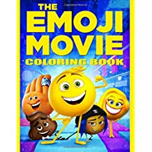 The Emoji Movie: Coloring Book for Kids and Adults, Activity Book (high-quality Illustrations 2017)