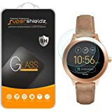(2 Pack) Supershieldz Designed for Fossil Q Venture Gen 3 Smartwatch Tempered Glass Screen Protector, (Full Screen Coverage)