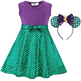 FUNNA Princess Costume Short Dress Up for Toddler