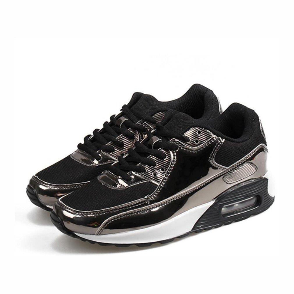 Laufschuhe, Herren Sportschuhe, Casual Single Schuhe, Große Größe Herrenschuhe Damen Sport Laufschuhe, Paar Turnschuhe, (Farbe : Ein, Größe : 37)