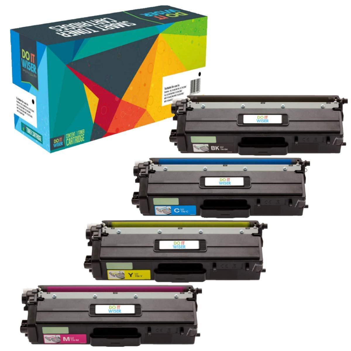 Do it Wiser ® 4 Cartuchos de Tóner XL TN423 TN421 TN-423 TN421 TN423 TN-421 Compatibles para Brother HL-L8260CDW HL-L8360CDW DCP-L8410CDW MFC-L8690CDW MFC-L8900CDW (6,500 páginas negro y 4,000 páginas colores ) dbe34d