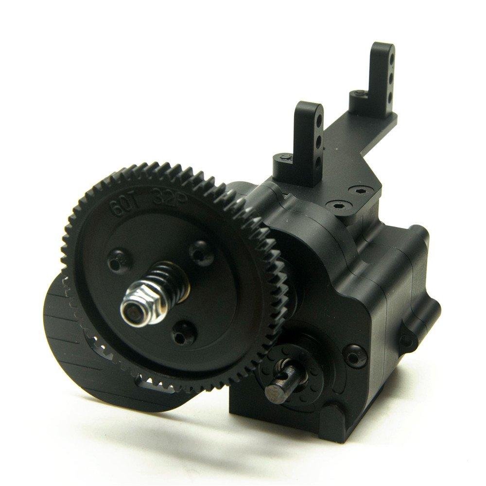 2 velocità Alluminio Trasferimento Astuccio Riduttore per 1 10 RC Car AX2 Axial Wraith e SCX10   Honcho