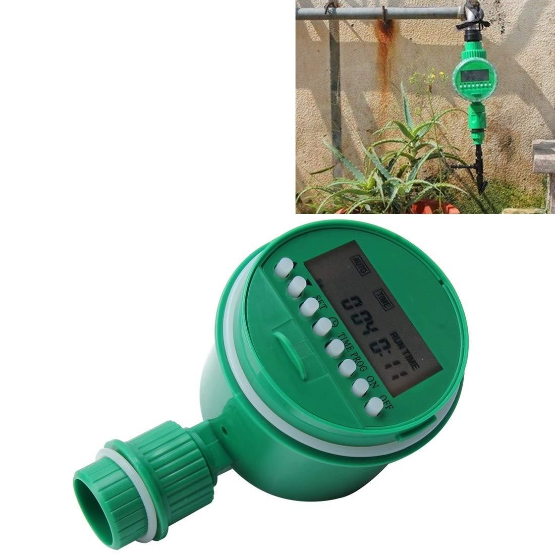 Arte del giardino Timer del programmatore di irrigazione automatico irrigazione del giardino, kit di irrigazione del regolatore di temporizzazione di irrigazione a pioggia, Dimensioni  14,3  8  7,5