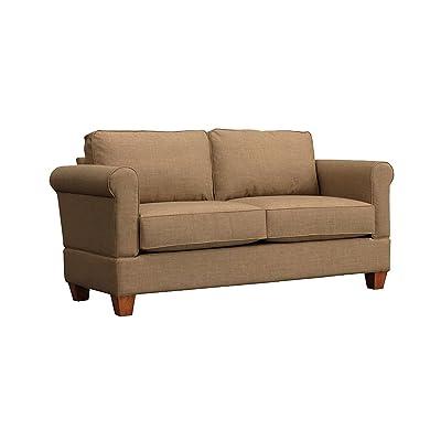 Amazon Com Divano Roma Furniture Modern Linen Fabric