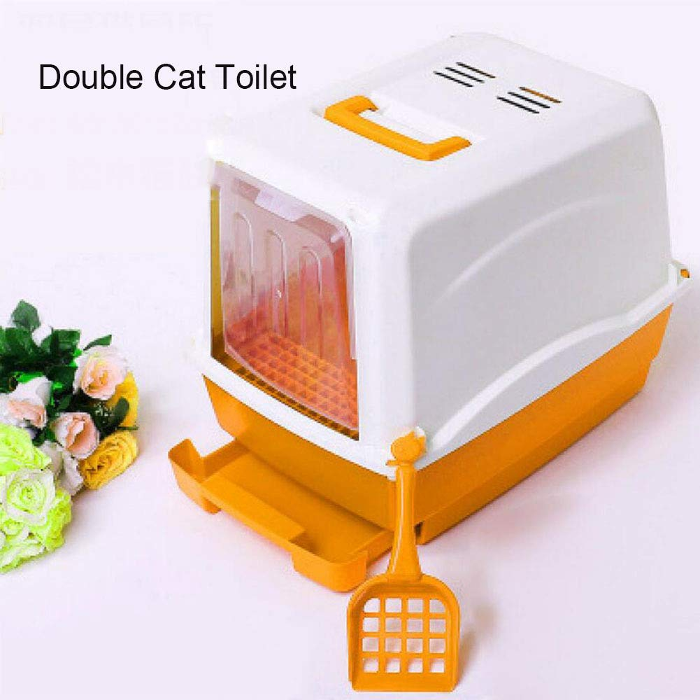 5 Cat toilet Large Fully Enclosed Large Enclosed Deodorant,5