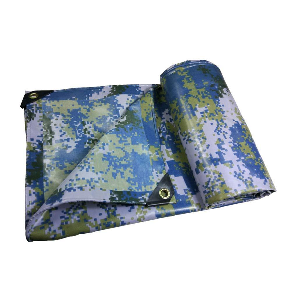 YEIUY Wasserdichte Tarnung Verdickung Camouflage, UV-resistent High-Density-Gewebe im Freien Regen und staubdicht, Camping Angeln Picknick, eine Vielzahl von Größen zur Verfügung
