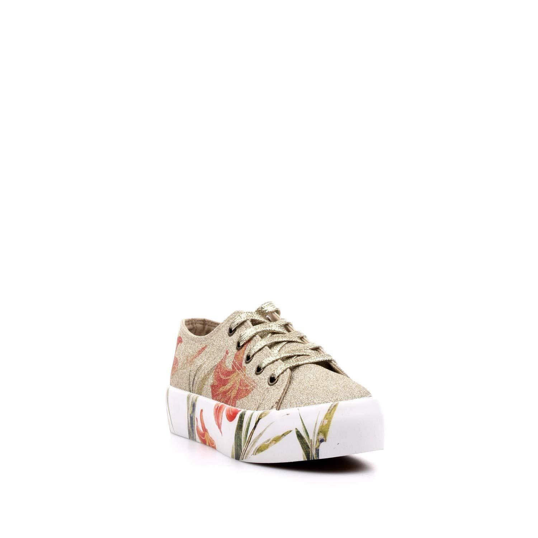 Cafènero IDM933377390 377 Platino 39 scarpe da ginnastica in in in Glitter con Stampa Fiore 65bcc6