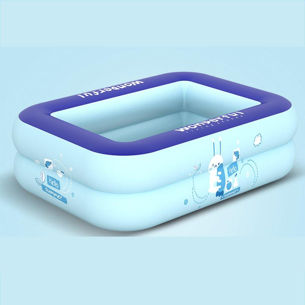 Piscina para Niños De Múltiples Capas Bañera Inflable Al Aire Libre Engrosamiento De Aislamiento Piscina para Jugar Piscina para Niños,Large(ManualInflatable)