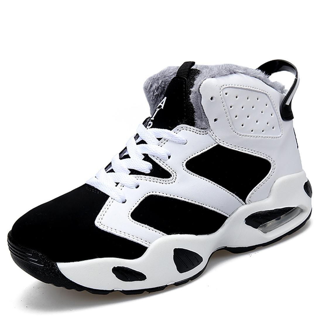 Herren Sportschuhe Ausbildung Atmungsaktiv Erhöht Basketball Schuhe Turnschuhe Trainer Plus Kaschmir Warm halten Schutzfuß EUR GRÖSSE 33-45
