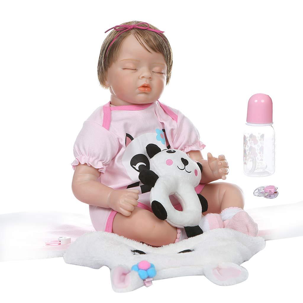 precios bajos todos los dias Vivitoch - Muñeca realista realista realista de 55 cm de silicona suave para recién nacido, juguete realista hecho a mano, regalo de cumpleaños para niños  ventas en línea de venta