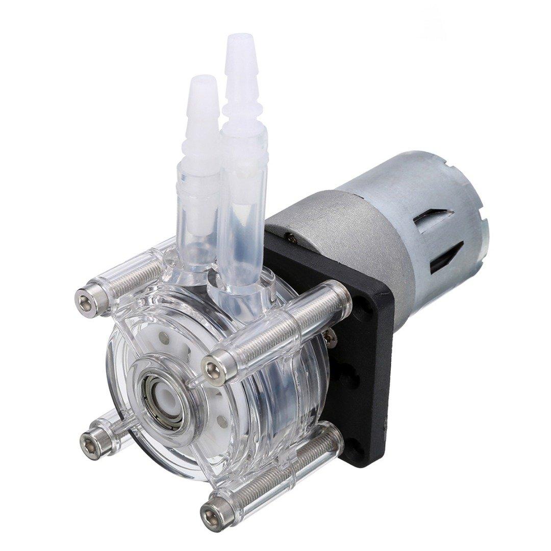 HEASEN 1pc Peristaltic Pump DC 12V Large Flow Dosing Pump for Vacuum Aquarium Lab Analytical