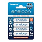 Panasonic Eneloop Rechargeable AA Batteries 4 Pack
