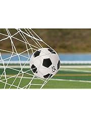 VGEBY Soccer Goal Net, Full Size, Sostituzione Goalie Net Soccer Training 6x 4/8x 6/12x 6/24x 8Piedi