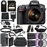 Nikon D810 DSLR Camera with 24-120mm Lens + Rechargable Li-Ion Battery + Charger + Sony 128GB SDXC Card + HDMI Cable + Remote + Memory Card Wallet + Flash Bundle