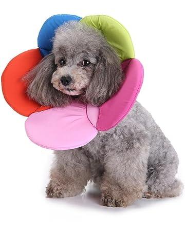 4597da579d4 Artistic9 Dog Cat Soft Cone Collars Pet Elizabethan Collar Adjustable Wound  Healing E-Collar Noah
