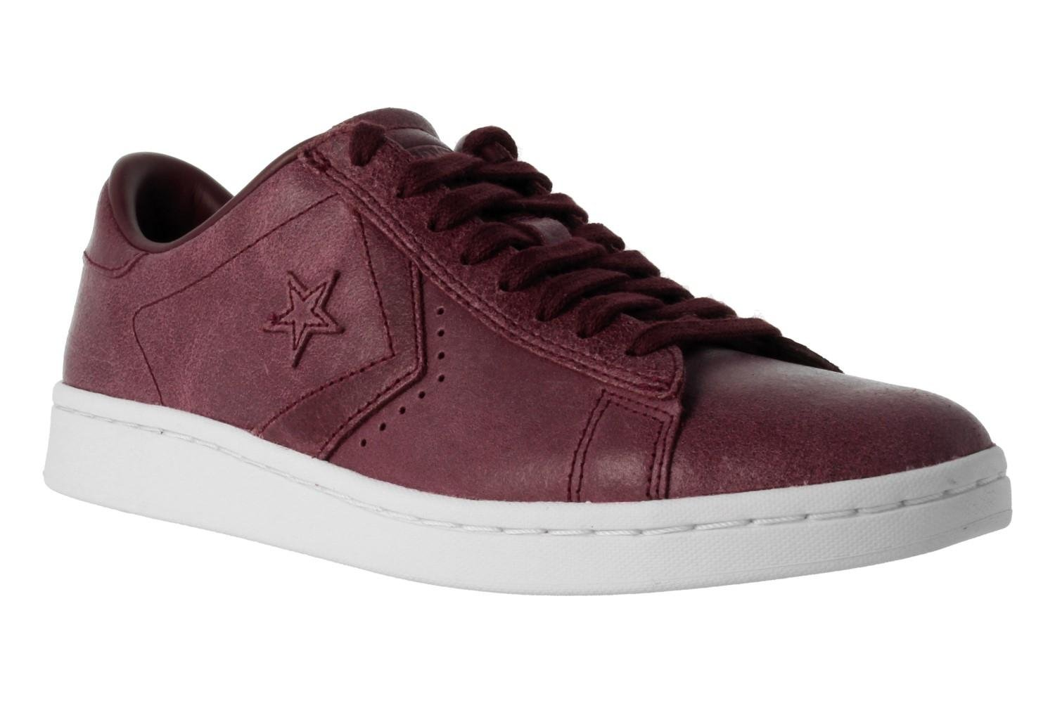 Converse Womens Pro Leather LP Sneaker B01NALLNUY 40 5|Red