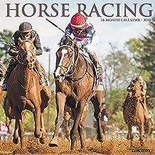 Horse Racing 2019 Wall Calendar
