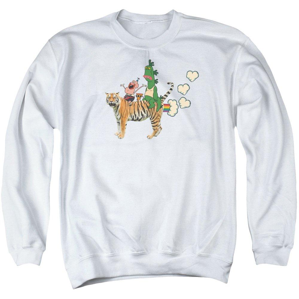 Uncle Grandpa - - Herren Fart Hearts Sweater