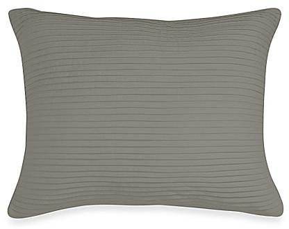 Wamsutta® Baratta Stitch Oblong Throw Pillow in Grey - BedBathandBeyond.com
