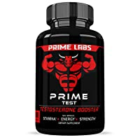 Prime Labs - Men's Test Booster - Natural Stamina, Endurance and Strength Booster...