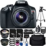 Canon EOS Rebel T6 DSLR Camera Bundle with EF-S 18-55mm f/3.5-5.6 IS II Lens, Carrying Case and Accessory Kit (28 Items)