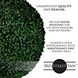 3rd Street Inn Topiary Ball - Artificial Topiary