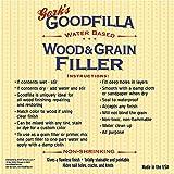 Water-Based Wood & Grain Filler - Walnut - 8 oz