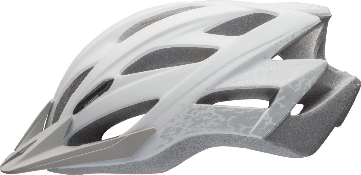 BELL Slant MTB Fahrrad Helm Gr. 54-61cm weiß Silber 2017