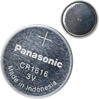 Panasonic CR1616 3V Coin Cell Lithium Battery, Retail...