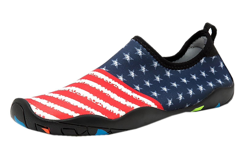 Zegoo Facture Lightweight Aqua Water Shoes Women's Quick Drying Aqua Water Shoes B07CM45HQH 7.5 B(M)US Women/6.5 D(M) Men=39=9.3''foot|Map
