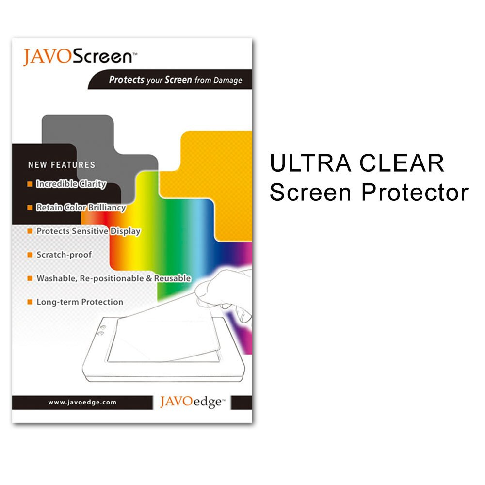 JAVOedge Ultra-Clear Screen Protector for the Barnes & Noble Nook HD ...