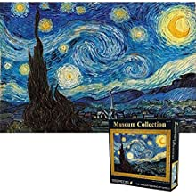 Jigsaw Puzzles 1000 Pieces for Adults and Kids, Starry Night Adult Jigsaw Puzzles, Stars Landscape Jigsaw Puzzles 1000 Pieces, Puzzles for Kids 70 x 50cm (27.56 x 19.69inch)