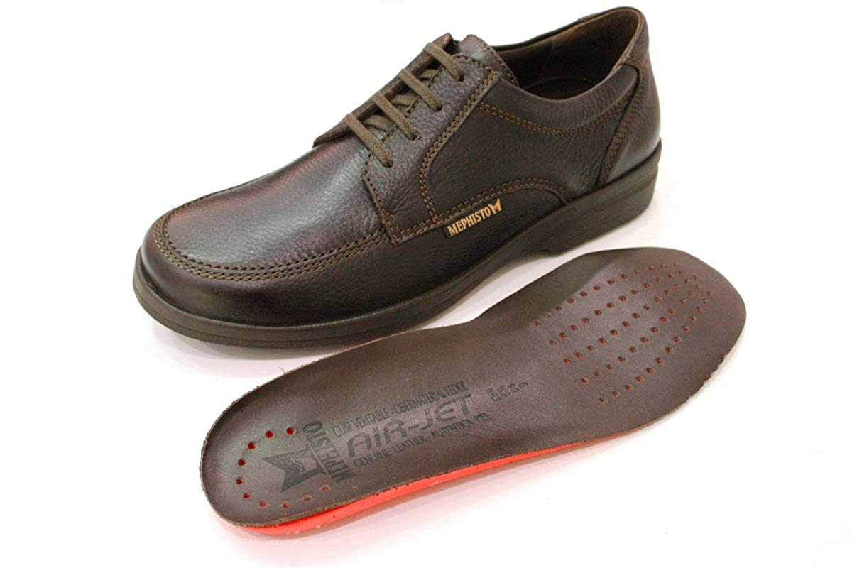 Mephisto BROWN JANEIRO NATURAL 7251 DARK BROWN Mephisto P5041033 Herren Derbys Dunkelbraun 6c78ec