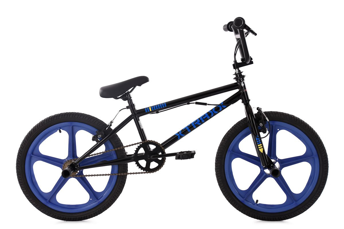 KS Cycling 662B BMX Freestyle Unisex Kinder, Schwarz