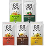 88 Acres Organic Sunflower Seed Butter   Gluten Free, Nut-Free Seed Spread   Vegan & Non GMO (14 Pack Variety)