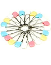 Cloth Diaper Pins Stainless Steel Traditional Safety Pin (Asst)