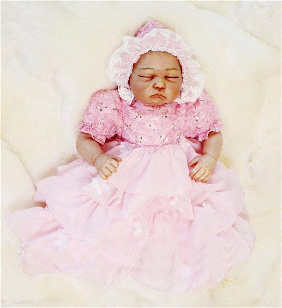 moda Terabithia Rare Alive Little Sweetheart Sweetheart Sweetheart Silicona Sleepy Reborn Bautizo Niña Muñecas  hasta 60% de descuento