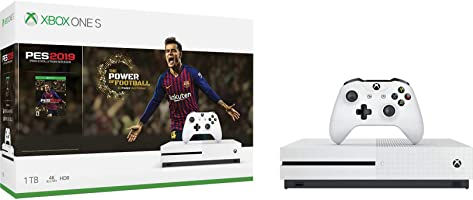 Consola Xbox One S, 1TB + Pro Evolution Soccer 2019 - Bundle Edition