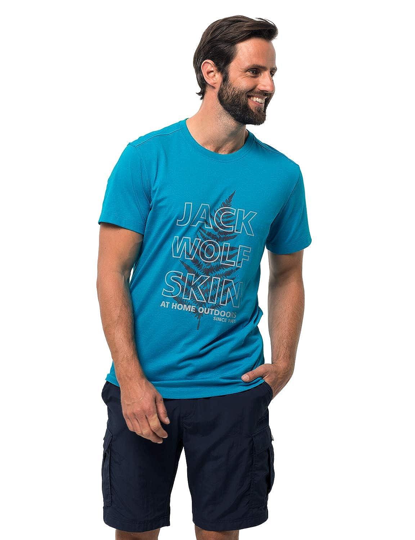 Bleu Reef 3XL Jack Wolfskin Island Hill manche courte T-Shirt