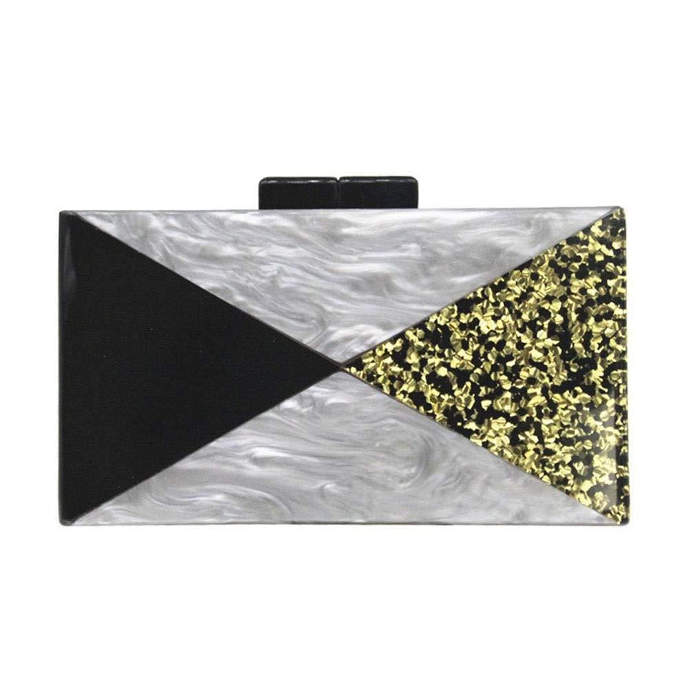 FELICIOO Damen Acryl Clutch Bag Abend Abend Abend Party Kleid Schultertasche Umhängetasche (Farbe B07PWBYNB2 Clutches Hohe Qualität und Wirtschaftlichkeit 206d53