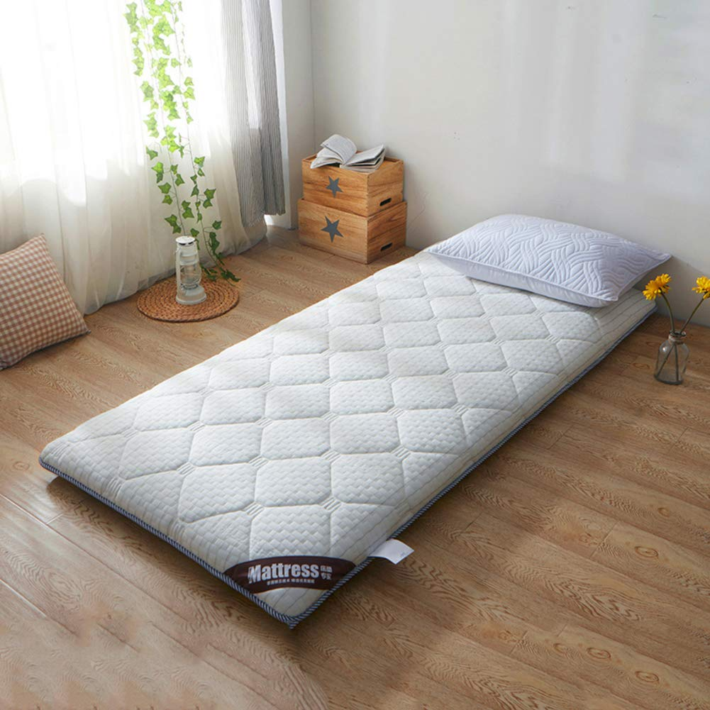 B 90x190cm(35x75inch) WYMNAME Japanese Floor Futon Mattress, Quilted Foldable Roll Up Mattress Topper Sleeping Pad for Home Apartment Student Dormitory-c 150x190cm(59x75inch)