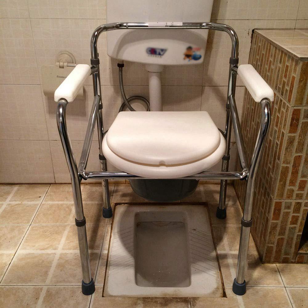 Mrtie Mobile Toilette Zum Heben Und Falten, Schwangere Frauen, Ältere Behinderte Patienten, Toilettensitz, Toilettensitz