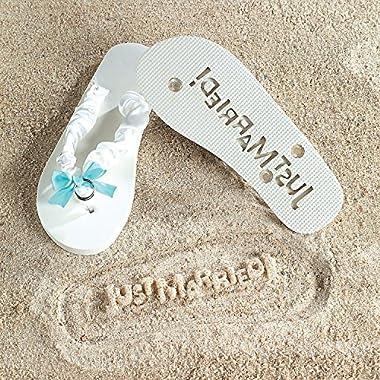 Fun Express Just Married Flip Flops - Size (5/6)