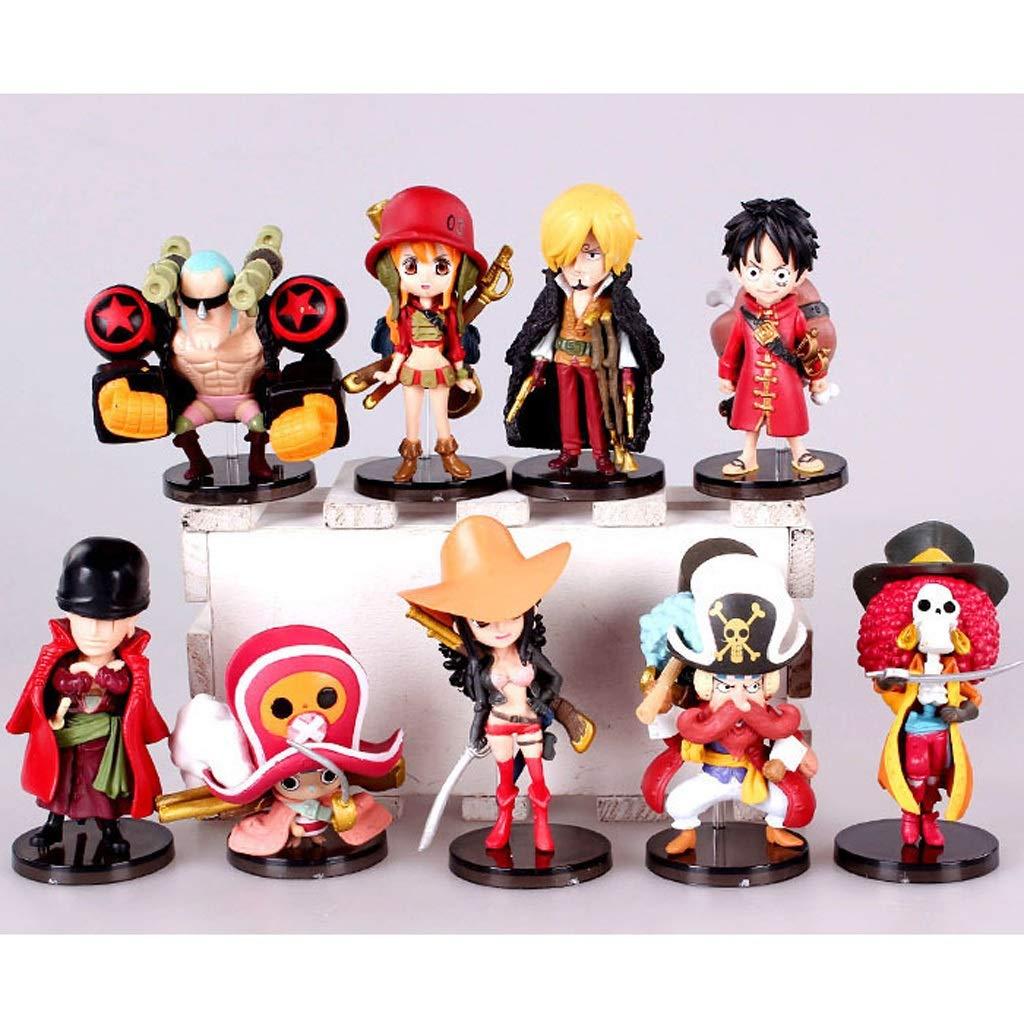 tienda de descuento WXFO Estatua Estatua Estatua De Juguete Modelo De Juguete Colección De Personajes De Dibujos Animados Decoración   9 Juegos Modelo Anime  Entrega gratuita y rápida disponible.