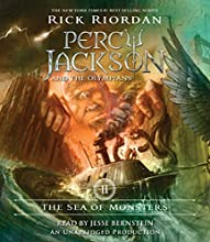 The Sea of Monsters: Percy Jackson and the Olympians, Book 2 Audiobook by Rick Riordan Narrated by Jesse Bernstein
