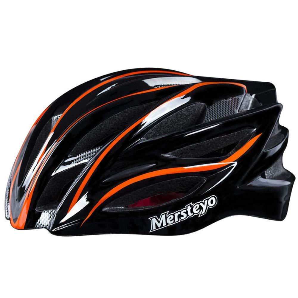 Bicycle helmet Fahrrad Reithelm Integrierte Form Mountainbike Reitausrüstung Helm Fahrrad Unisex,1